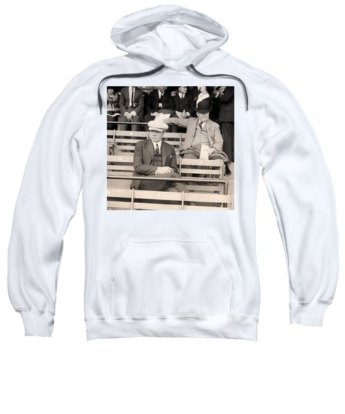 Babe Ruth In The Stands At Griffith Stadium 1922 Sweatshirt by Mountain Dreams