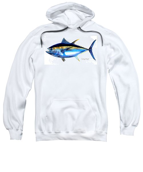 Big Eye Tuna Sweatshirt by Carey Chen