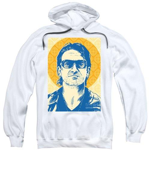 Bono Pop Art Sweatshirt by Jim Zahniser