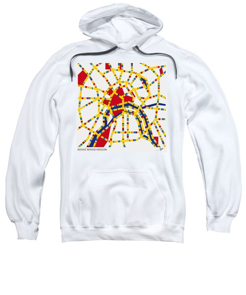 Boogie Woogie Moscow Sweatshirt by Chungkong Art