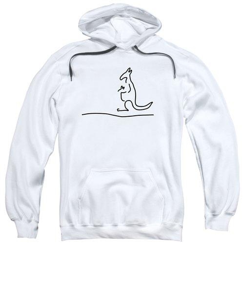 Cangarooh Kaenguru Bag Baby Sweatshirt by Lineamentum