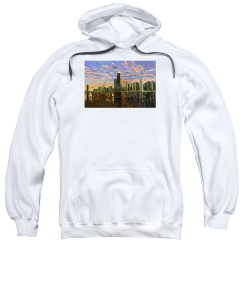 Chicago Sweatshirt by Mike Rabe
