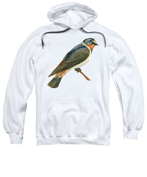 Cliff Swallow  Sweatshirt by Anonymous