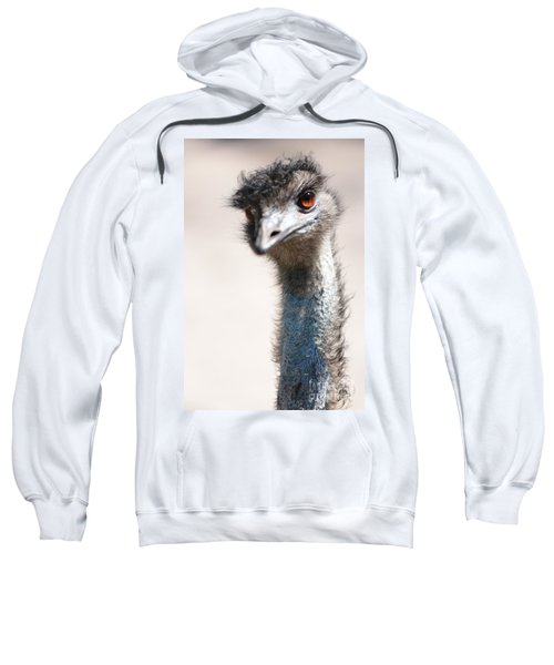 Curious Emu Sweatshirt by Carol Groenen