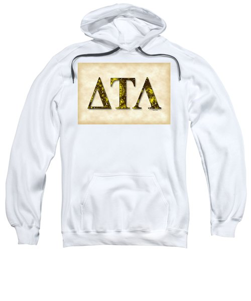 Delta Tau Lambda - Parchment Sweatshirt by Stephen Younts