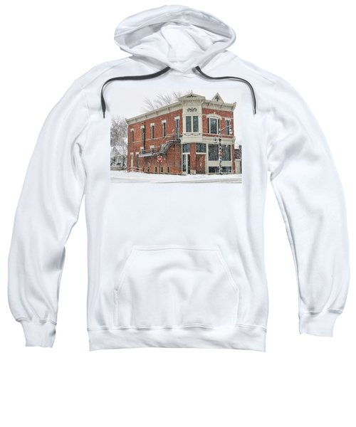 Downtown Whitehouse  7031 Sweatshirt by Jack Schultz