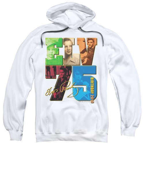 Elvis - Birthday 2010 Sweatshirt by Brand A