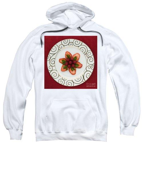 Flowering Fruits Sweatshirt by Anne Gilbert
