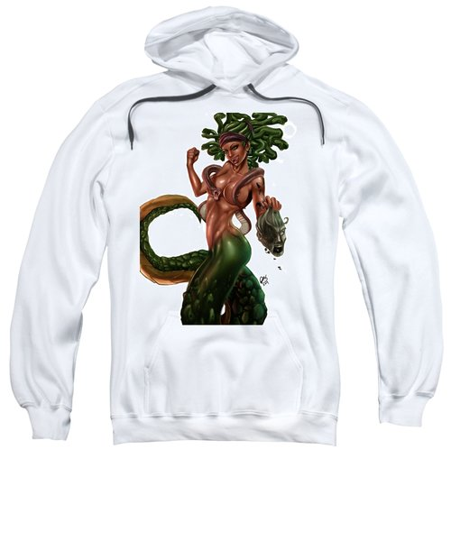 Gorgon Sweatshirt by Pete Tapang