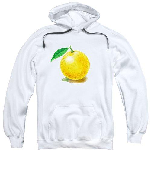 Grapefruit Sweatshirt by Irina Sztukowski