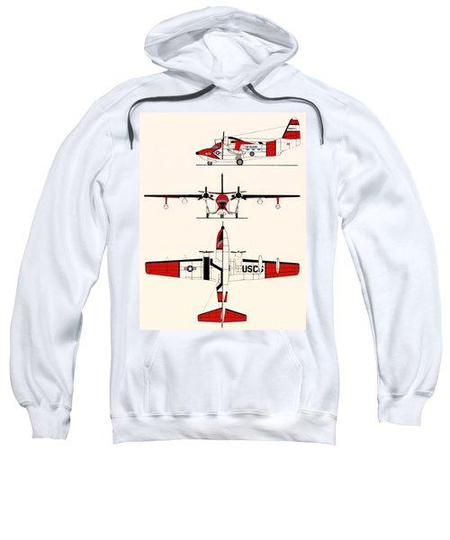 Grumman Hu-16e Albatross Sweatshirt by Mountain Dreams