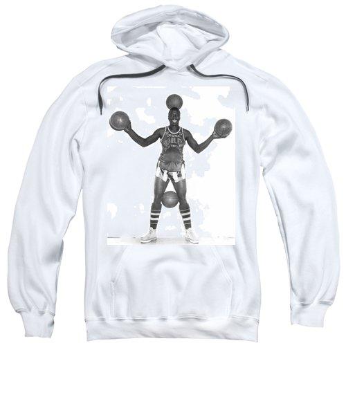 Harlem Globetrotters Player Sweatshirt by Underwood Archives