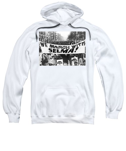 Harlem Supports Selma Sweatshirt by Stanley Wolfson