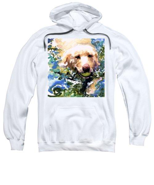 Head Above Water Sweatshirt by Molly Poole