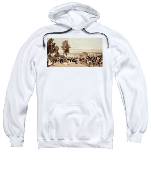 Hyde Park, Towards The Grosvenor Gate Sweatshirt by Thomas Shotter Boys