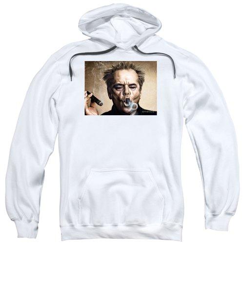 Jack Nicholson Sweatshirt by Andrzej Szczerski