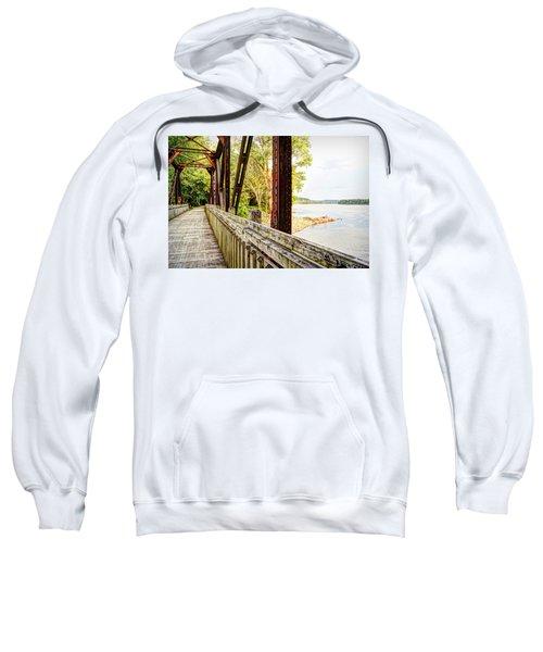 Katy Trail Near Coopers Landing Sweatshirt by Cricket Hackmann
