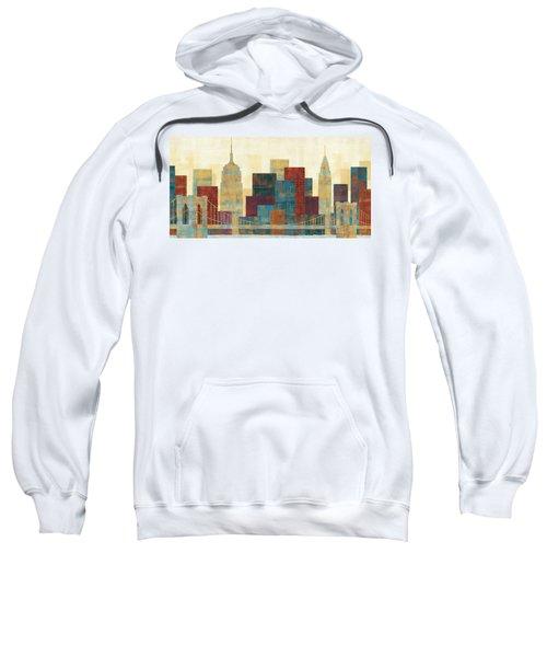 Majestic City Sweatshirt by Michael Mullan