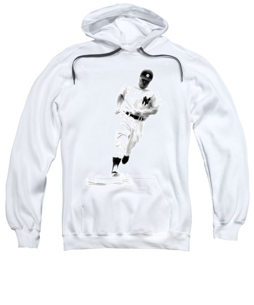 Mantles Gate  Mickey Mantle Sweatshirt by Iconic Images Art Gallery David Pucciarelli