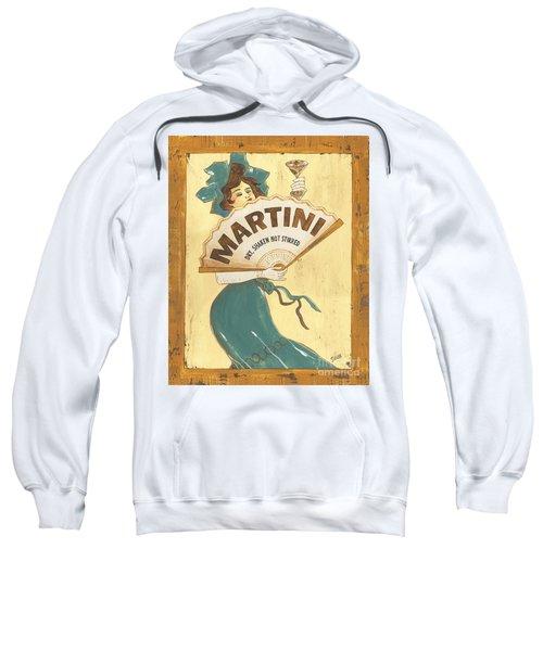 Martini Dry Sweatshirt by Debbie DeWitt