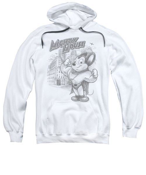 Mighty Mouse - Protect And Serve Sweatshirt by Brand A
