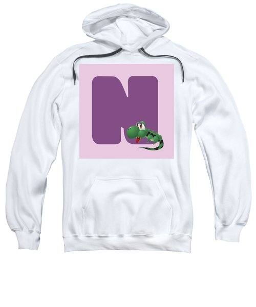 N Sweatshirt by Gina Dsgn
