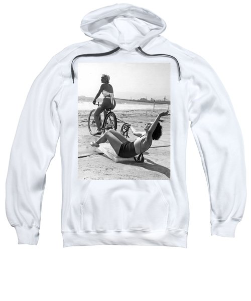New Sport Of Ice Planing Sweatshirt by Underwood Archives