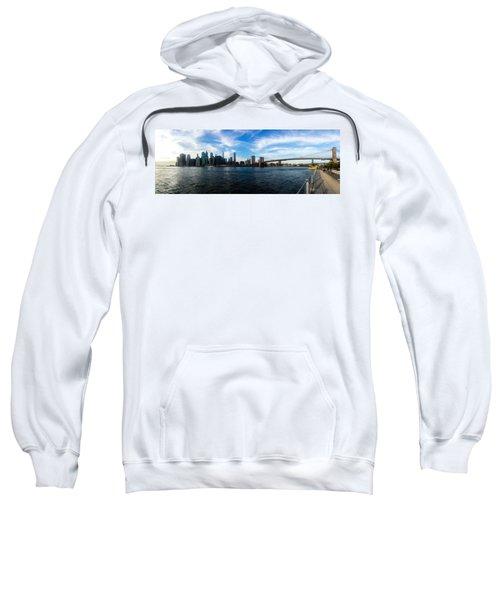 New York Skyline - Color Sweatshirt by Nicklas Gustafsson