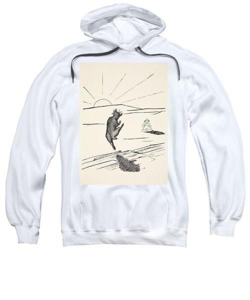 Old Man Kangaroo Sweatshirt by Rudyard Kipling