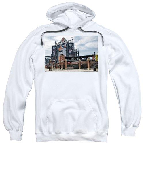 Oriole Park At Camden Yards Sweatshirt by Susan Candelario
