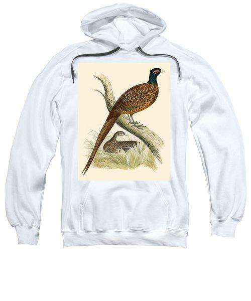 Pheasant Sweatshirt by Beverley R Morris