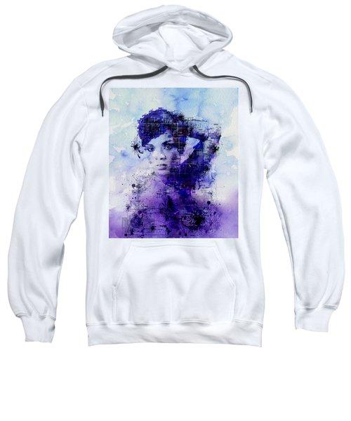 Rihanna 2 Sweatshirt by Bekim Art