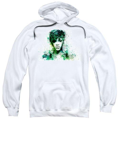 Rihanna 5 Sweatshirt by Bekim Art