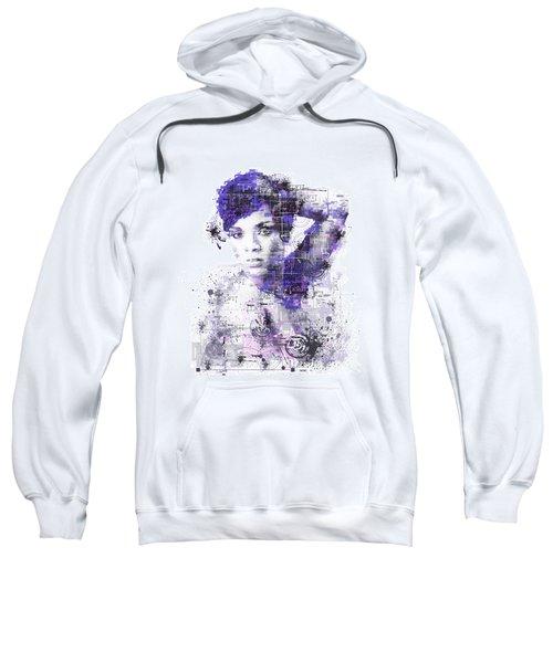 Rihanna Sweatshirt by Bekim Art