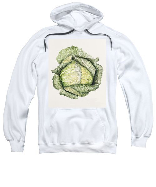 Savoy Cabbage  Sweatshirt by Alison Cooper