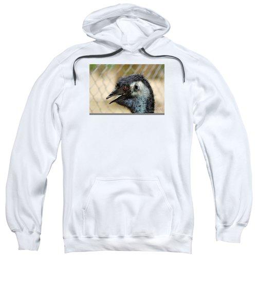 Smiley Face Emu Sweatshirt by Kaye Menner