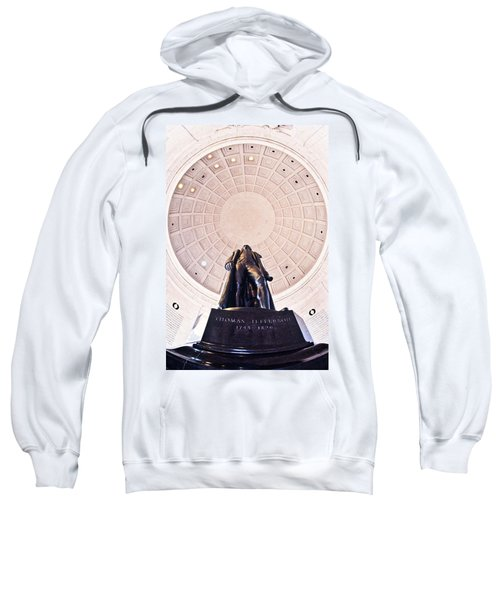 Statue Of Thomas Jefferson Sweatshirt by Panoramic Images