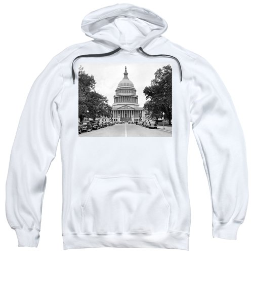 The Capitol Building Sweatshirt by Underwood Archives