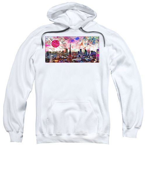 Tokyo Metropolis Sweatshirt by Daniel Janda