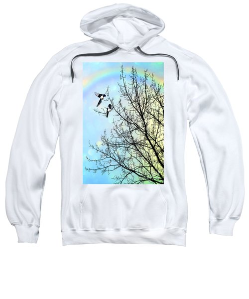 Two For Joy Sweatshirt by John Edwards