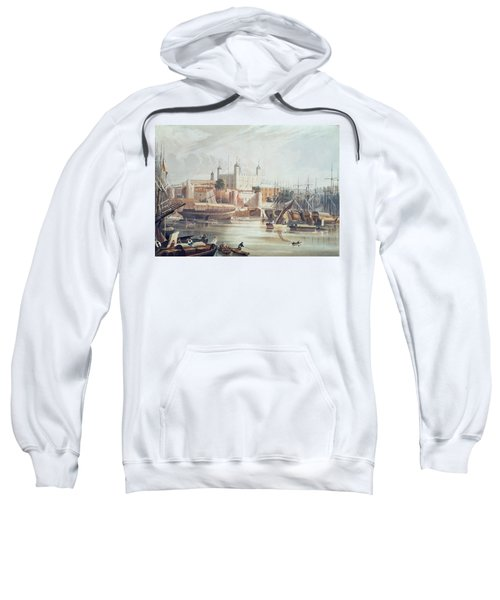 View Of The Tower Of London Sweatshirt by John Gendall