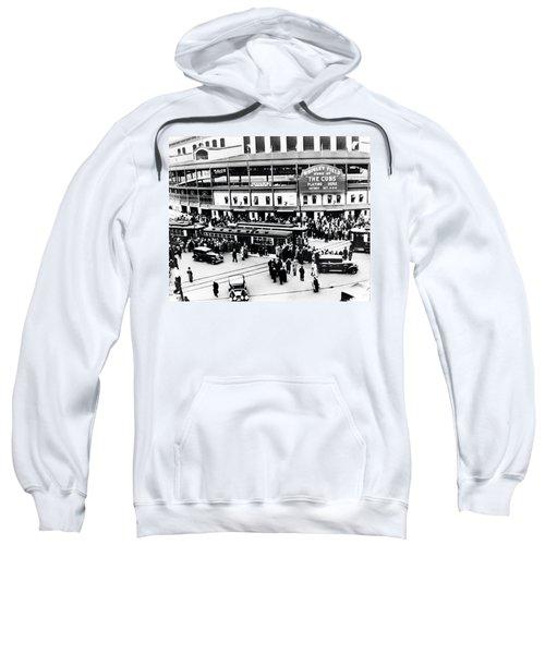 Vintage Wrigley Field Sweatshirt by Bill Cannon