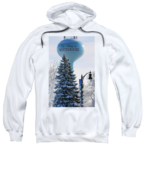 Whitehouse Water Tower  7361 Sweatshirt by Jack Schultz