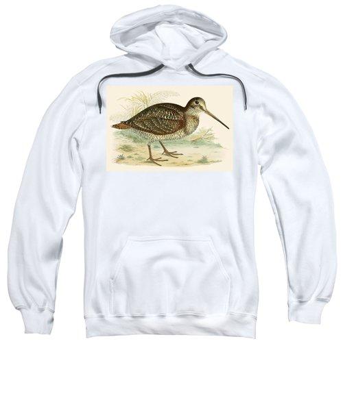 Woodcock Sweatshirt by Beverley R Morris