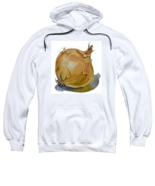 Yellow Onion Sweatshirt by Irina Sztukowski