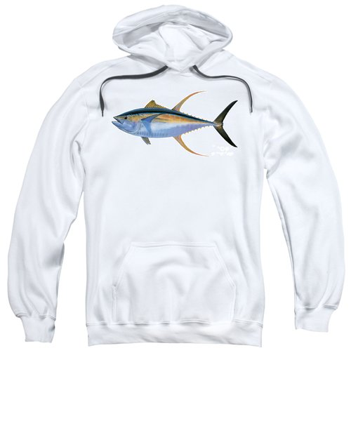 Yellowfin Tuna Sweatshirt by Carey Chen