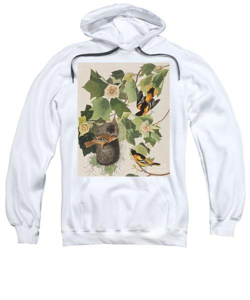 Baltimore Oriole Sweatshirt by John James Audubon