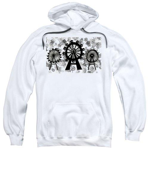 Ferris Wheel - London Eye Sweatshirt by Michal Boubin