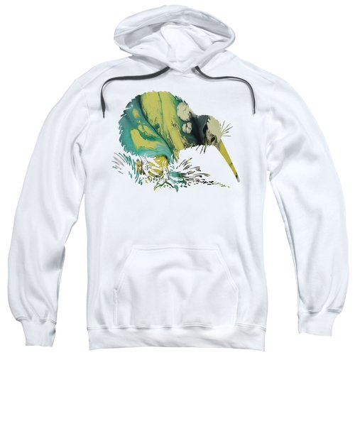 Kiwi Bird Sweatshirt by Mordax Furittus