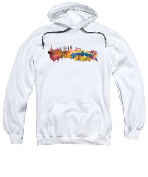 London Skyline Sweatshirt by Justyna JBJart